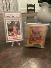 90/91 FLEER BASKETBALL WAX PACK WITH MICHAEL JORDAN #26 SHOWING ON BACK
