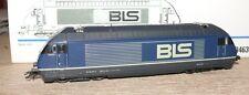 B23 Märklin 3463 E LOK Re 4/4 Serie 465 001-6 BLS x