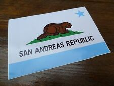 $$$ GRAND THEFT AUTO V SAN ANDREAS REPUBLIC STICKER $$ ROCKSTAR GAMES $$$
