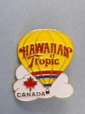 HAWAIIAN TROPIC HOT AIR BALLOON CANADA PIN VINTAGE ADVERTISING BUTTON