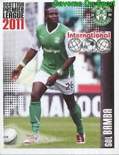 528 souleymane bamba ivory coast stickers scottish premier league 2011 panini