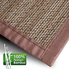 Bambusmatte Bambusteppich Bambus Teppich Läufer Vorleger Küchenteppich Badmatten