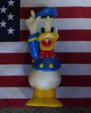 "Vintage DISNEY DONALD DUCK Rubber BANK 7 "" TALL RARE!!!! 60's or 70's"