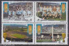 URUGUAY 2000 - CENTENARIO NAZIONALE CALCIO FOOTBALL - P. 18 - BLOCCO MNH