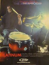 The Mars Volta, Thomas Pridgen, Pacific Drums, Full Page Promotional Print Ad