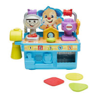 Fisher-Price Laugh and Learn Busy Learning Tool Bench Infant Toy - Multicoloured