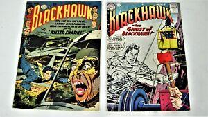 Blackhawk Comics-Golden Age-First Killer Sharks-3 Book Lot