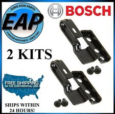 For Toyota Honda Subaru Mitsubishi Pair (2) BOSCH Wiper Arm Adapter Kits NEW