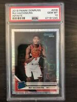 2019-20 Donruss Rui Hachimura Infinite Rookie PSA 10 Washington Wizards RC QTY