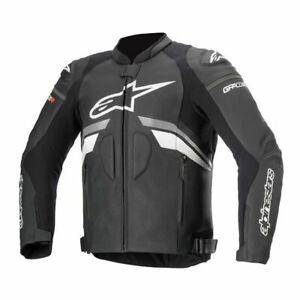 New black white Motorbike Motorcycle Racing Leather jacket LD-656-2021(US38-48 )