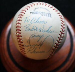 Vintage Frank Robinson Signed and Inscribed Ball HOF D 2019 JSA