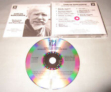 Conlon Nancarrow Orchestral Chamber and Piano Music 1991 MHS Continuum Music CD