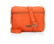 Village in vera pelle sapiston ENGLISH Arancione Crossbody Bag-NUOVO