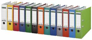 Klassischer Leitz 1010 Ordner 80mm, 20er Sparpaket, Vollfarbig, versch. Farben