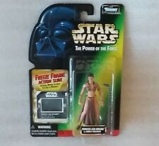 Star Wars Princess Leia Organa as Jabba's Prisoner 1997 Mint on Card Collectible