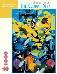 Charley Harper: The Coral Reef 1000 Piece - Jigsaw Puzzle