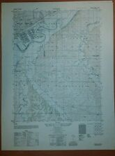 1950 Army map Ogden Kansas Sheet 6662 II SW w/ Aerial Photo Fort Riley Funston