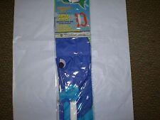 """Gayla 876 3D Nylon Kite Tropical Fish 271/2"""" Wx29"""" L X 18""""T New Nip"""