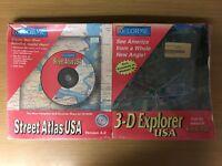 Street Atlas USA® (Version 4) & 3-D Explorer USA™ - Combo Pack - Factory Sealed