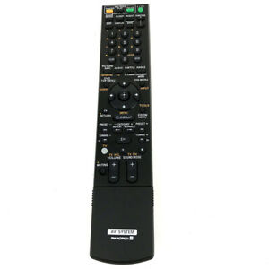 NEW RM-ADP021 For Sony Audio Video Receiver Remote Control DAV-HDX678WF HDX575WC