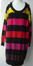 Sonia Rykiel pour H&M dress  Kleid buntes Strickkleid Pima Baumwolle EUR Gr.XS/S