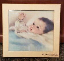 Terra Traditions Baby Photo Album Blue 4 X 6 200 New