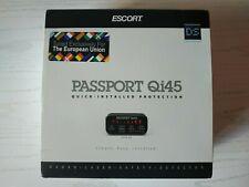 Escort EURO Qi45e passport radar detector EURO version NEW