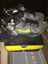 Nike Zoom KOBE VIII 8 SYSTEM SS CHRISTMAS GREEN GREY BLACK GOLD 639522-001 DS 12