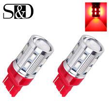 2Pcs Red 7443 7440 T20 12SMD LED CREE XPE Car Brake Reverse Tail Turn Light Bulb