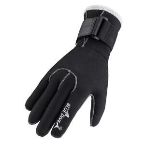 Summer Men Women Child 3mm Neoprene Black Warm Scuba Diving Gloves Anti Scratch