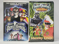 Mighty Morphin Power Rangers - VHS - Wild Force Identity Crisis, The Movie
