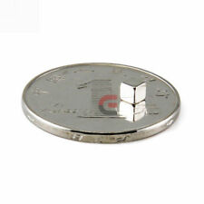 100pcs Neodymium Magnets 3mm Cube N35 Rare Earth Disc Super Strong Rare Earth