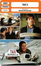 FICHE CINEMA : TAXI 3 - Naceri,Diefenthal,Farcy,Ling,Krawczyk 2003