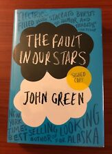 SIGNED The Fault in Our Stars by John Green 2012 HCDJ First Edition 1st Printing