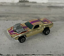 Vintage Hot Wheels Rodger Dodger Gold Blackwall Transition BW 1977 Very Clean