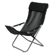 10T Maxi XXL Campingstuhl Klappstuhl Gartenstuhl Relax-Stuhl-Liege Kopfpolster