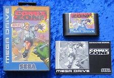 Comix Zone, OVP instrucciones, Sega Mega Drive juego