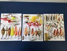 Large group lot of Vintage Antique Metal lures and bobbers.
