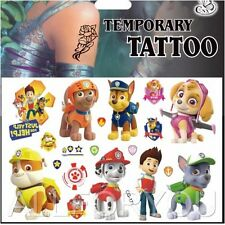 1x Paw Patrol Temporary Tattoo Sheets Children Kids Birthday Party Bag Filler