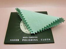 2 x Jewellery Anti Tarnish Silver POLISH Cleaning Clean CLOTH P ~8CM or 7x10CM~