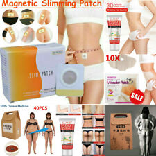 40Packs Magnetic Strongest Slim Patch Burn Fat Weight Loss-Fast Acting Detox Pad