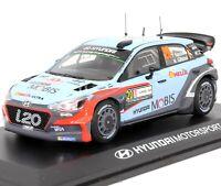 Hyundai Motorsport i20 WRC #20 World Rally Championship 1:43 Scale Model Car