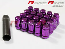 Purple Spline Wheel Nuts x 20 12x1.5 Fit Ford Fiesta Focus Escort Mondeo RS ST