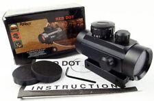 Scopes 1x30 Red Green Dot Pointer Hunting Illuminated Sight 20mm & 11mm Rail AB