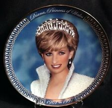 """Tribute To Princess Diana"" Franklin Mint Limited Edition Collector's Plate"