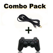 Wireless Game Controller Remote Control For PS3 with Charger Cable