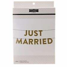 Just Married Banner by Celebrate It Occasions-NEW-7 ft.
