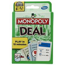 MONOPOLY DEAL CARD GAME - New, Fast Free Shipping