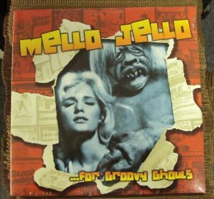 MELLO JELLO...FOR GROOVY GHOULS comp. LP SEALED Five Blobs Orville Couch