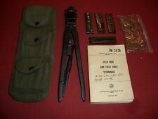 MILITARY SURPLUS TL-582 G CRIMPING TOOL ARMY FIELD PHONE RADIO SIGNAL CORPS